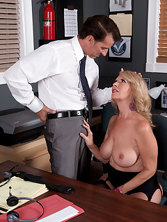 Huge Office Boobs Pics
