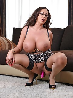 Huge Boobs and  Sextoys Pics